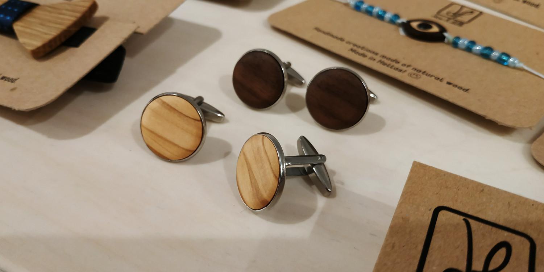 Χειροποίητο προϊόντα DionandFelle από φυσικό ξύλο - Νέες Συλλογές