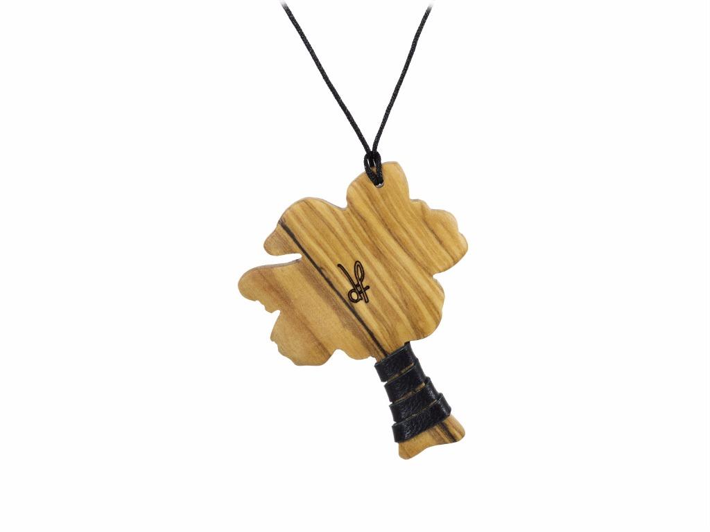 Κολιέ Purity από ξύλο Ελιάς