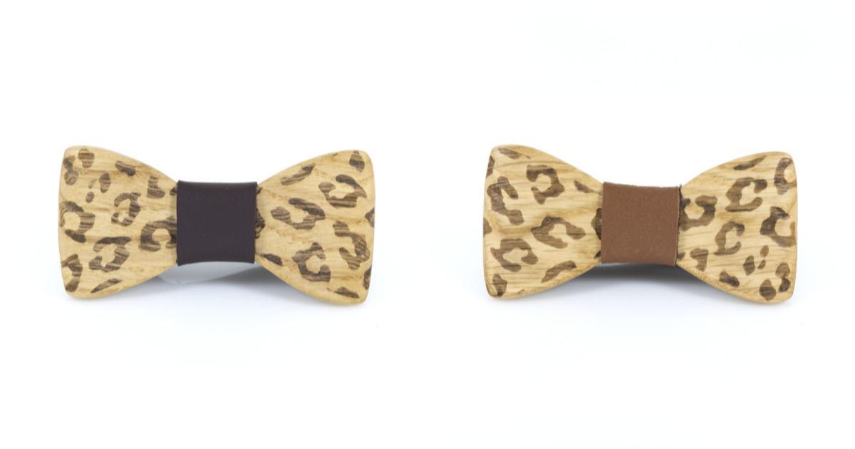 Χειροποίητο Παιδικό Παπιγιόν Leopard