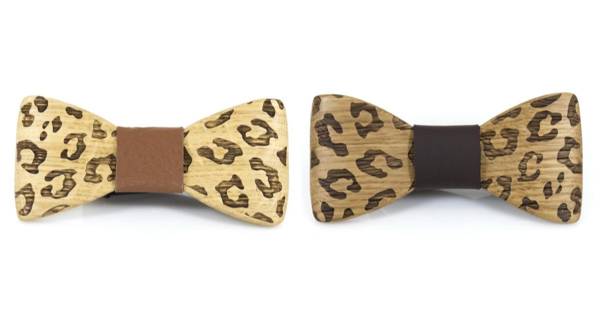 Χειροποίητο Ανδρικό Παπιγιόν Leopard