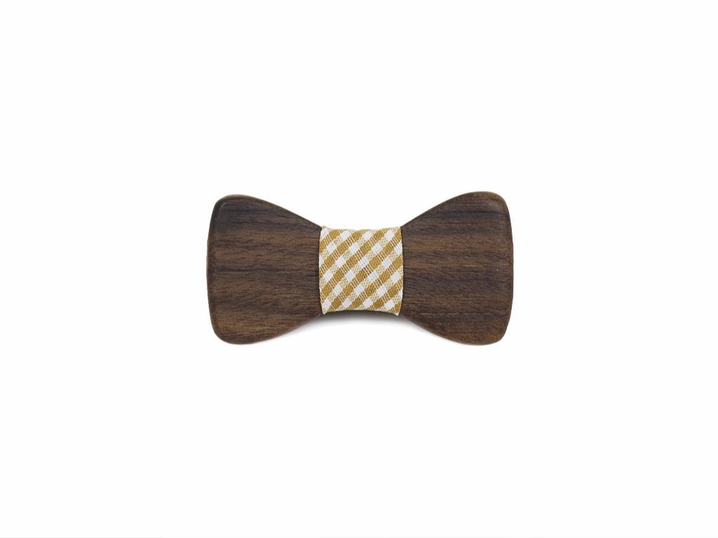 Βρεφικό Παπιγιόν από ξύλο Καρυδιάς