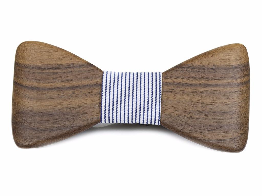 Ανδρικό Παπιγιόν από ξύλο Καρυδιάς
